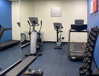 Exercise room with cardio equipment   Comfort Suites Kings Bay Naval Base Area