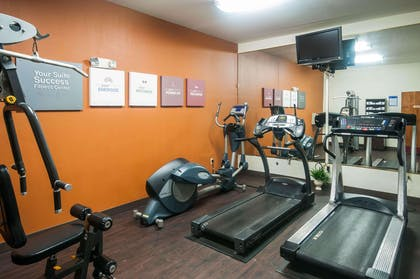 Fitness center with cardio equipment | Comfort Suites Milledgeville