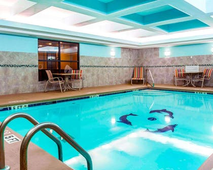 Indoor heated pool | Comfort Suites At Kennesaw State University