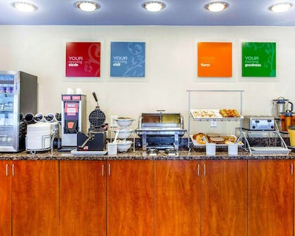 Free breakfast with waffles | Comfort Suites At Kennesaw State University