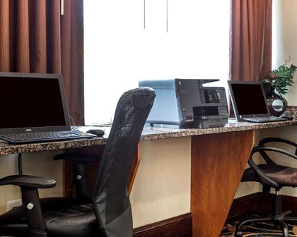 Business center with high-speed Internet access | Comfort Suites At Kennesaw State University