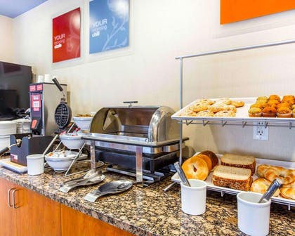 Assorted breakfast items | Comfort Suites At Kennesaw State University