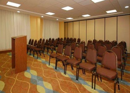 Meeting room with theater-style setup | Comfort Suites Augusta