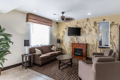 Spacious lobby with sitting area | Sleep Inn and Suites at Kennesaw State University