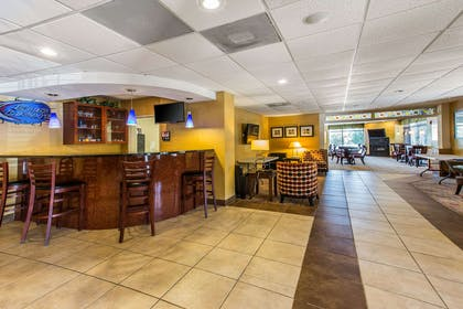 Lobby and entertainment area | Comfort Suites Forsyth near I-75