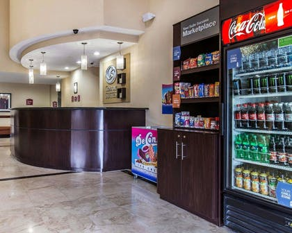 Lobby with marketplace | Comfort Suites Waycross