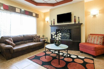 Lobby with sitting area | Comfort Inn & Suites Fort Gordon
