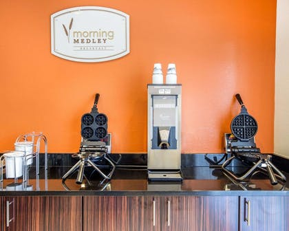 Free breakfast with waffles   MainStay Suites Cartersville - Emerson Lake Point