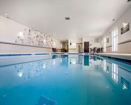 Indoor heated pool   MainStay Suites Cartersville - Emerson Lake Point