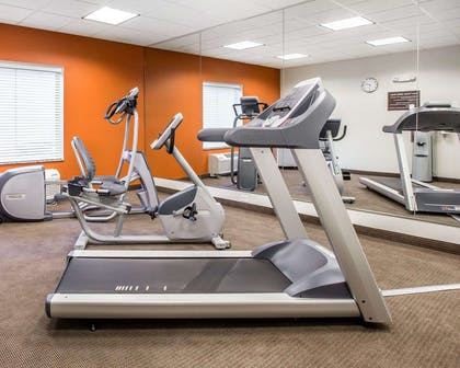 Fitness center with cardio equipment   MainStay Suites Cartersville - Emerson Lake Point