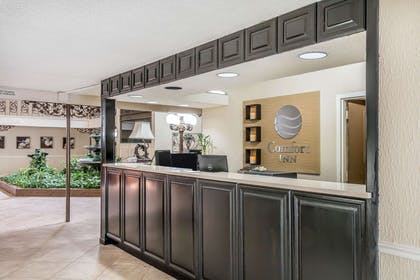 Front desk with friendly staff | Comfort Inn