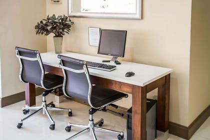 Business center with high-speed Internet access | Clarion Inn & Suites Savannah Midtown
