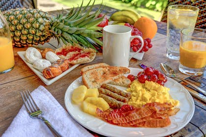 Assorted breakfast items | Kohea Kai Maui, an Ascend Hotel Collection Member