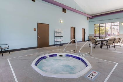 Indoor hot tub | Econo Lodge Inn & Suites Fairgrounds