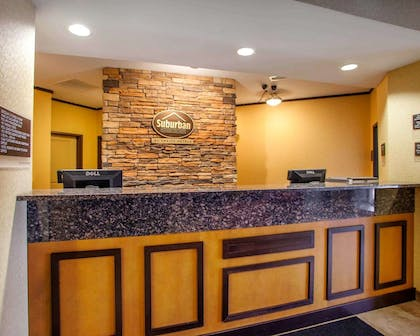 Front desk with friendly staff | Suburban Extended Stay Hotel C