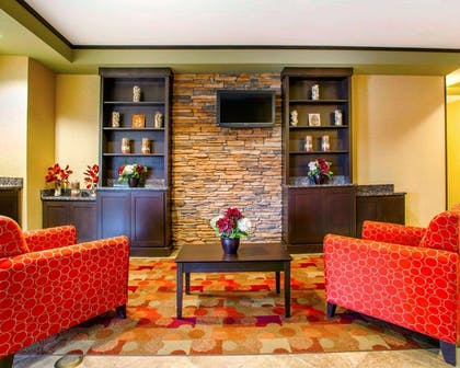 Lobby with sitting area | Suburban Extended Stay Hotel C