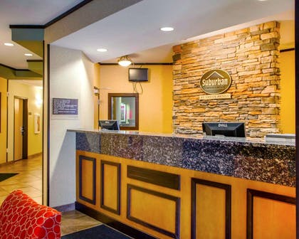 Front desk | Suburban Extended Stay Hotel C