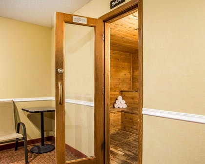 Relax in the sauna | Quality Inn & Suites Davenport near I-80