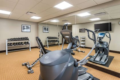 Fitness center | Sleep Inn & Suites West Des Moines near Jordan Creek