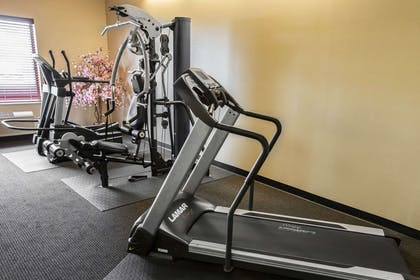 Fitness center with cardio equipment | Comfort Inn Crystal Lake - Algonquin
