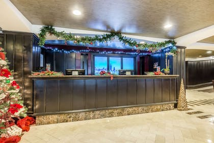 Front desk with friendly staff | Hotel Blake, an Ascend Hotel Collection Member
