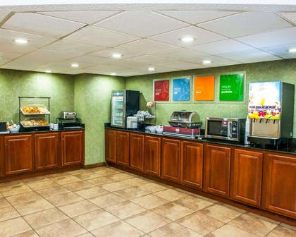 Free breakfast with waffles | Comfort Inn & Suites North at the Pyramids
