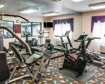 Fitness center | Quality Inn & Suites South Bend