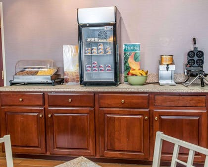 Assorted breakfast items | Quality Inn & Suites South Bend