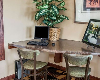 Business center with high-speed Internet access | Quality Inn & Suites Greenfield I-70