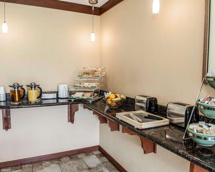Assorted breakfast items | Quality Inn & Suites Greenfield I-70