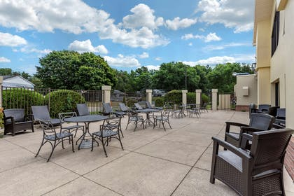 Outdoor seating area   Comfort Inn And Suites