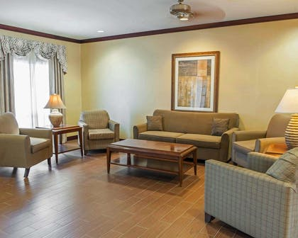 Sitting area | Comfort Suites Southport