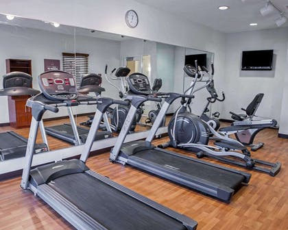 Fitness center | Comfort Suites Southport