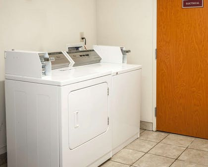 Guest laundry facilities | Comfort Suites Southport