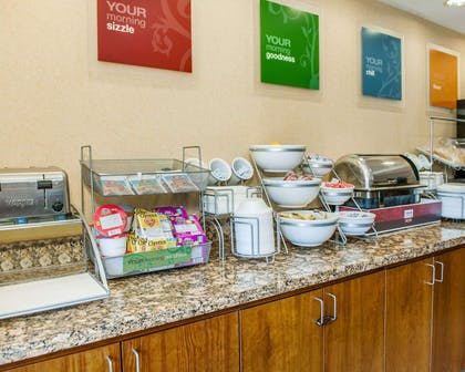 Assorted breakfast items | Comfort Suites French Lick