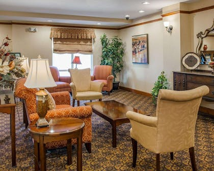 Spacious lobby | Comfort Suites French Lick
