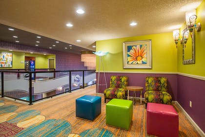 Lounge on second floor | Clarion Inn & Suites