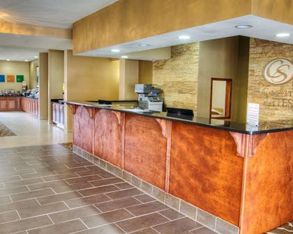 Front desk with friendly staff | Comfort Suites