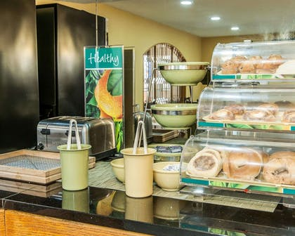 Assorted breakfast items | Quality Inn & Suites Shelbyville I-74