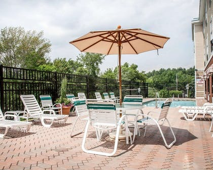 Relax on the sundeck   Comfort Inn & Suites