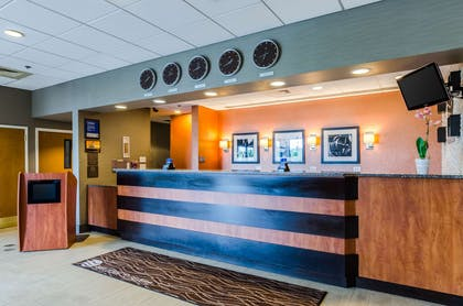 Front desk | Comfort Inn & Suites Logan International Airport