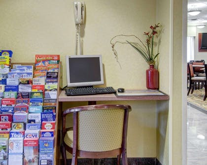 Business center with free wireless Internet access | Comfort Inn Woburn