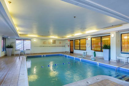 Indoor heated pool | Quality Inn Boston-Revere