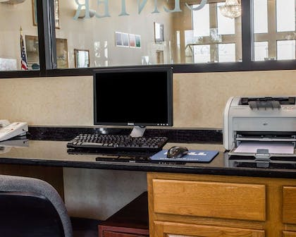 Business center with free wireless Internet access   Comfort Suites