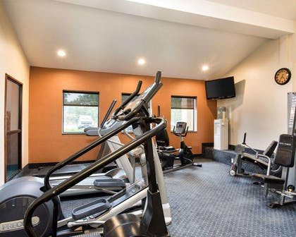 Fitness center with television | Comfort Inn & Suites LaVale - Cumberland