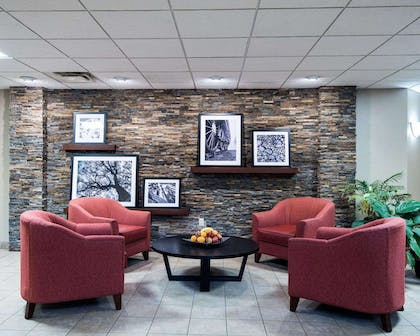 Spacious lobby with sitting area | Comfort Inn & Suites LaVale - Cumberland