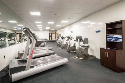 Fitness center cardio room | Clarion Resort Fontainebleau Hotel - Oceanfront