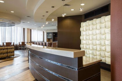 Front desk with friendly staff | Cambria Hotel Rockville