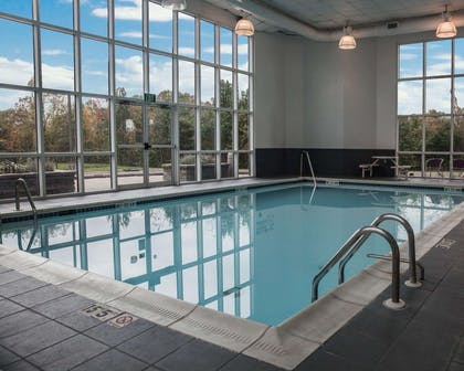 Indoor pool | Sleep Inn & Suites Edgewood Near Aberdeen Proving Grounds