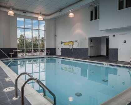 Indoor heated pool | Sleep Inn & Suites Edgewood Near Aberdeen Proving Grounds